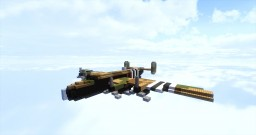 Handley Page Halifax Mk III Minecraft Project