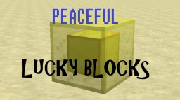 Peaceful Lucky Blocks in One Command! Minecraft Project