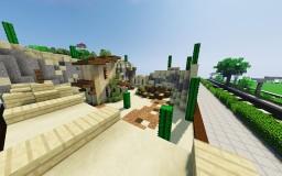 Sandstone Desert Survival Minecraft Map & Project