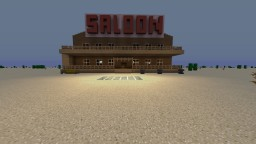 Saloon Bar Minecraft Map & Project