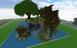 Fantasy Isles/Multi Houses Minecraft Map & Project