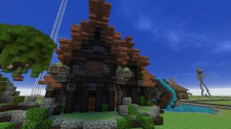 Medieval House (2) Minecraft Map & Project