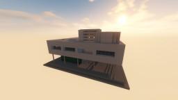 Villa Savoye - La Corbusier Minecraft Project