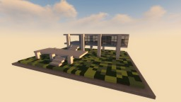 Farnsworth House Minecraft Map & Project