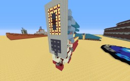 Destination Selector w/ Build in 7-segment display v2 Minecraft Map & Project