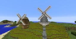Windmills/Wheat Plantation Minecraft Project