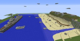 Normandy landing map Minecraft Project