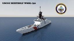 USCGC Bertholf WMSL-750 1:1 Minecraft Map & Project