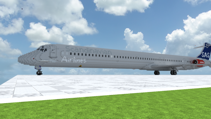 Scandinavian Airlines MD-82