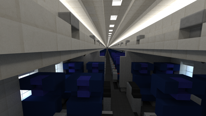 Giant 9 5 1 Mcdonnell Douglas Md 80 Minecraft Project