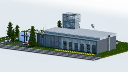 European Fire Station | TheVisual_Play Minecraft Project
