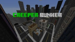 Creeper Bunker - a Modded Minecraft Experience Minecraft Map & Project