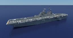 USS Essex (LHD-2) 1:1 scale Minecraft