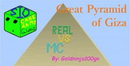 Minecraft vs Real Life | Great Pyramid of Giza - Updated Minecraft Map & Project