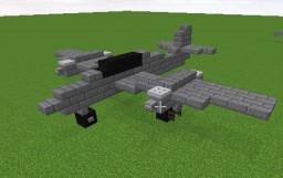 Messerschmitt Me 262 Minecraft Map & Project