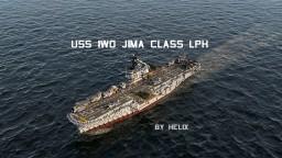 USS Iwo Jima class [1:1 scale LPH-2 & MCS-12] Minecraft Map & Project