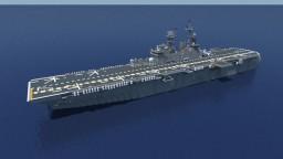 USS Iwo Jima (LHD-7) 1:1 scale Minecraft Project