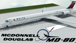 'Giant' 9.5:1 McDonnell Douglas MD-80 Minecraft Map & Project