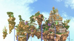 A New Castle Minecraft Map & Project