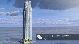 Skyscraper 36 | Salesforce Tower | AMC | Skyscraper Week Minecraft