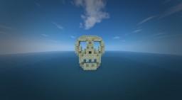 Skull Entrance Island Minecraft Project