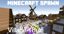 "The spawn village ""Thule"" Minecraft Map & Project"