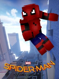 Spider-Man Homecoming Poster Minecraft Blog Post