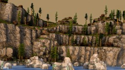 KWELANGA CLIFFS - An art piece from nature... | feat. PanchoElPro Minecraft Project