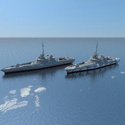 Littoral Combat Ship Class  - C7703 Minecraft Project