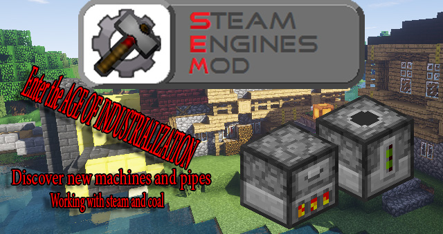 Steam Engines Mod