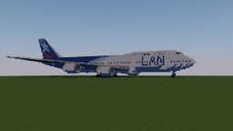 Boeing 747-100 LAN Chile Minecraft Project