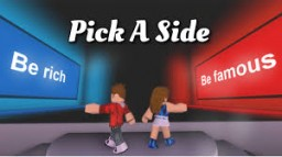 Pick a Side Minecraft Map & Project