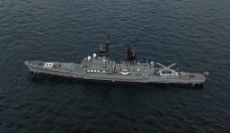 USS CG Belknap Minecraft Project