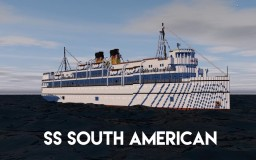 SS South American 4:1  ~ With Interior ~ Download Minecraft Map & Project