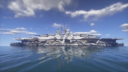 Aircraft Carrier - Pride (Partial Interior) Minecraft Map & Project