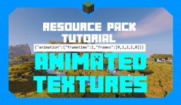 How to Make Animated Textures | Resource Pack Tutorial Minecraft Blog