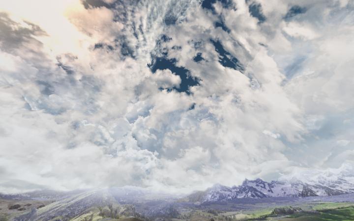 New landscape addon - plains
