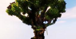 MEGA TREE SPAWN Minecraft Map & Project