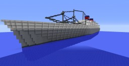 S.S. President Cleveland Minecraft Map & Project