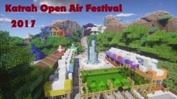 Katrah Open Air Festival 2017 Minecraft Map & Project