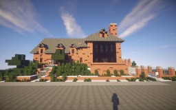 Obama's Kalorama home Minecraft Project