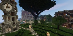 Medieval Island Minecraft Project