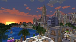 Reline City v1 - DOWNLOAD now AVAILABLE Minecraft Map & Project