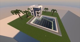 JustDeceased's Modern House Minecraft Project