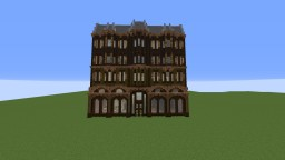 Victorian Hotel Minecraft Map & Project