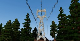 500kV Lattice Tower Pack (Download) Minecraft Project