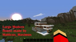 Modern House 9 Minecraft Project