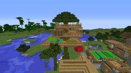 Village Manager's Tree House Minecraft Map & Project
