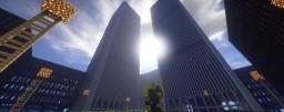 1:1 World Trade Center + Surrounding Buildings Minecraft