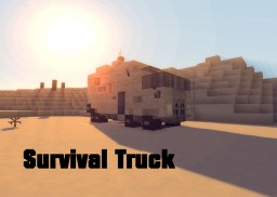 Survival Truck Tutorial Minecraft Map & Project